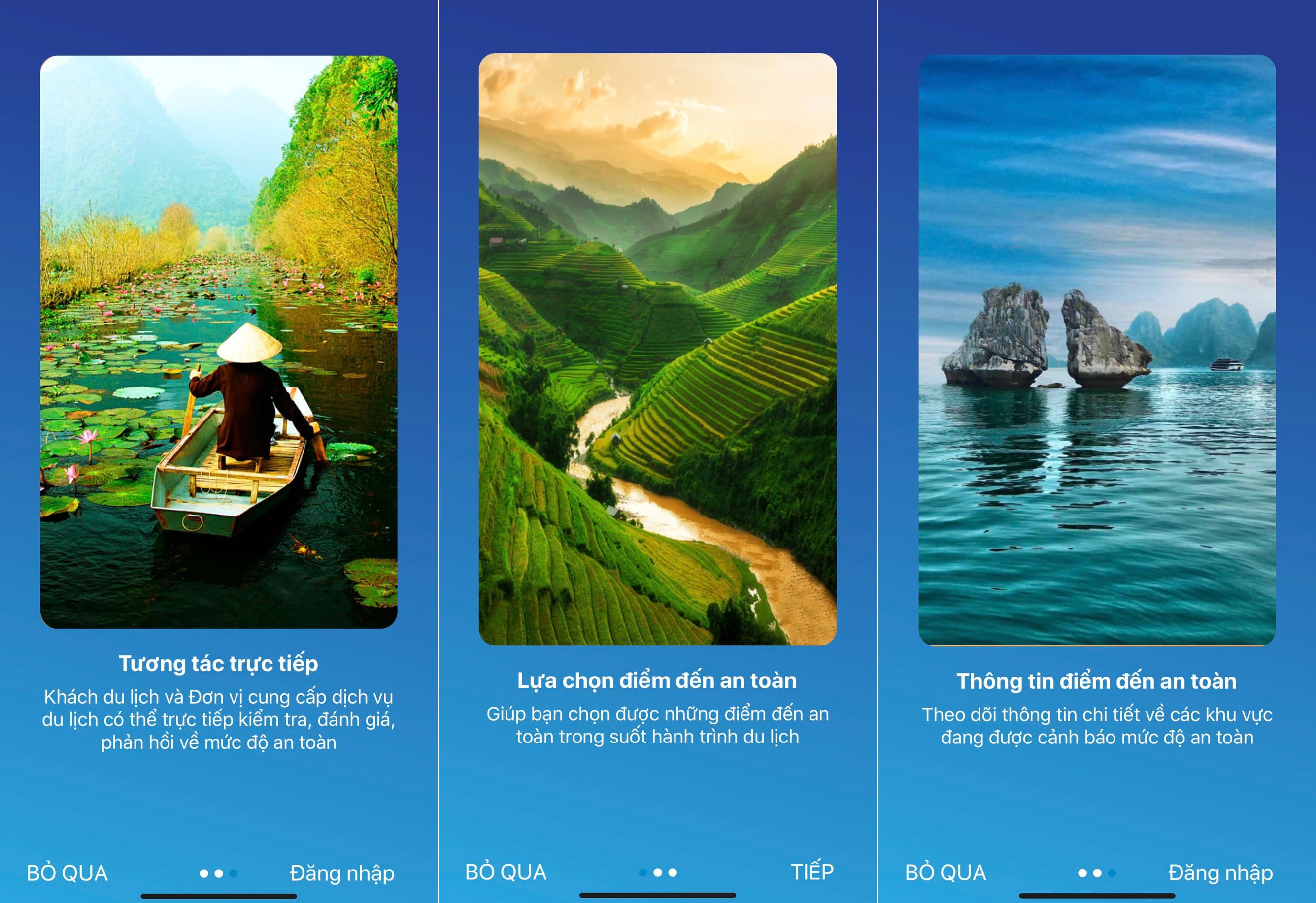 Tổng cục Du lịch ra mắt ứng dụng Du lịch Việt Nam an toàn