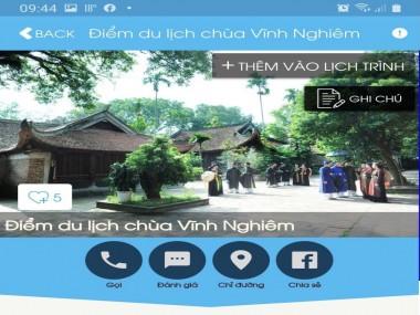 Bắc Giang: Tăng cường quảng bá du lịch trực tuyến